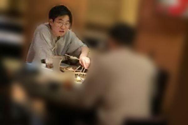 東京ホテイソン・たける目撃撮 焼肉食べながら「痩せたい」