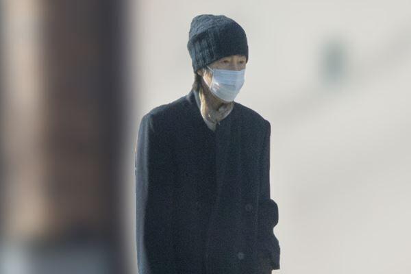 19年に目撃した田村さんの散歩姿