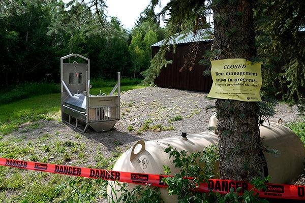 今回の事件を受けて閉鎖されたオヴァンドーのキャンプ場(写真:AP/アフロ)