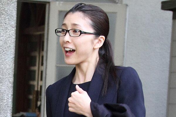 11年11月、長男のお受験に挑んでいた竹内結子さん