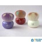 日本伝統工芸がキュートに変身 ドコモダケと熊野筆がコラボ