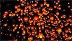 まるでラプンツェルの世界?春水堂で『七夕ランタン祭り』開催