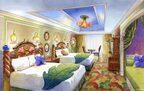 東京ディズニーランドホテル、ティンカー・ベルなどキャラ客室ビジュアル公開