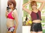 菊地亜美「一番太っていた時期」の写真公開 ダイエット成功も報告