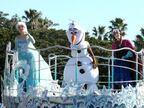 アナとエルサがパレード初登場 ディズニー『アナ雪』スタート
