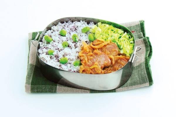 お弁当は午後の練習の活力源! たっぷりご飯と豚肉が主役の「パワーチャージ弁当」