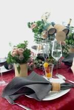 素敵な食卓を演出! テーブルクロスの選び方とナプキンの折り方事例