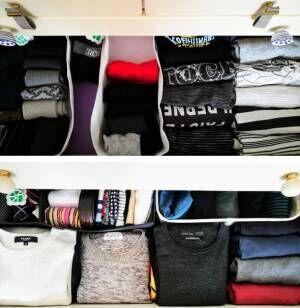 【服収納の実例】衣装ケースとタンスの使い分け方法って?