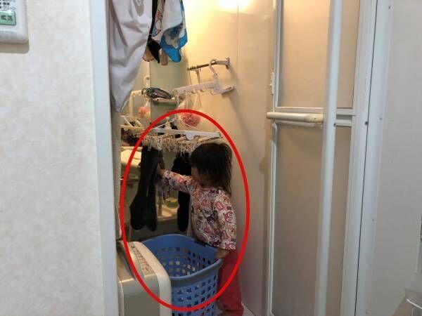 【実例】5人家族の洗濯! 大量の洗濯物を浴室干しでも楽にする仕組みとは