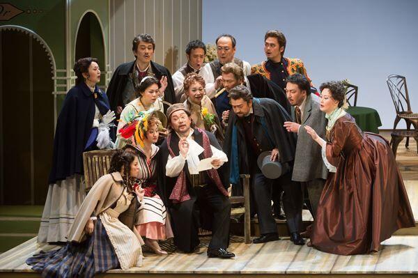 2015年藤原歌劇団公演『ランスへの旅』 (C)公益財団法人日本オペラ振興会