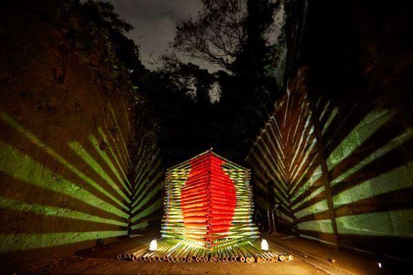 暗闇の無人島で、自然とアートを体感『Sense of Island —感覚の島— 暗闇の美術島』
