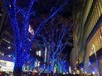 幻想的な青の光が街を彩る。「栄ミナミ・大須ウインターイルミネーション」がスタート