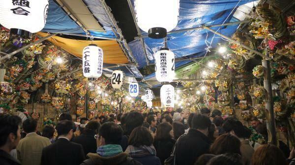 花園神社大酉祭(写真は過去の模様)