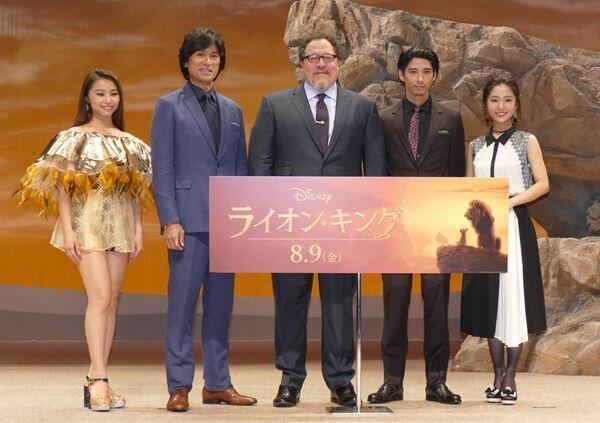 『ライオン・キング』ジャパンプレミアの様子