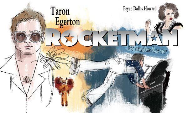 おとな向け週末映画ガイド 今週のオススメは『ロケットマン』『火口のふたり』など4作品と市川雷蔵映画祭。