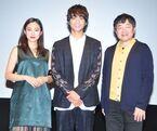 佐藤寛太、主演映画『いのちスケッチ』舞台挨拶で監督・共演者からツッコミを浴びる