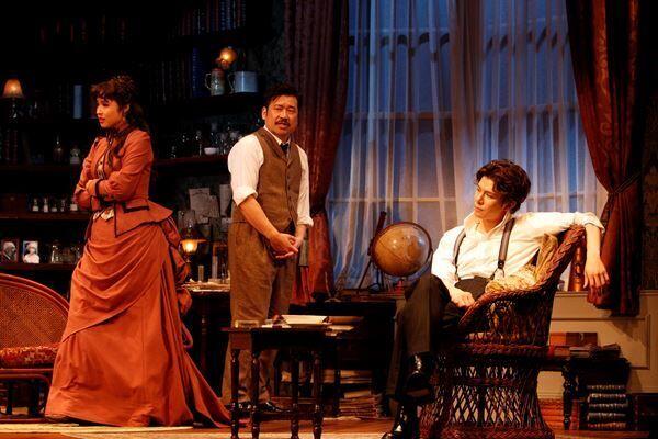 『愛と哀しみのシャーロック・ホームズ』 撮影:渡部孝弘