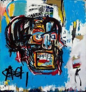 ジャン=ミシェル・バスキア《Untitled》1982年 oilstick, acrylic, spray paint on canvas 183.2 x 173 cm Yusaku Maezawa Collection, Chiba Artwork © Estate of Jean-Michel Basquiat. Licensed by Artestar, New York