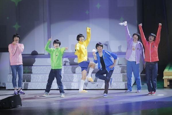 舞台『おそ松さん on STAGE〜SIX MEN'S SHOW TIME 3〜』 (C)はc赤塚不二夫/「おそ松さん」on STAGE製作委員会2019