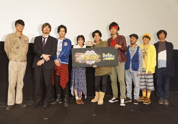 武田航平「平成仮面ライダーをこれからも残していきたい」『仮面ライダーグリス』完成披露舞台挨拶レポ