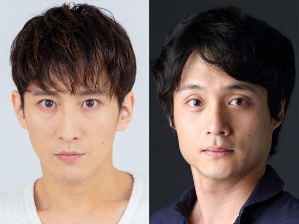 『タージマハルの衛兵』の出演者。左から成河、亀田佳明