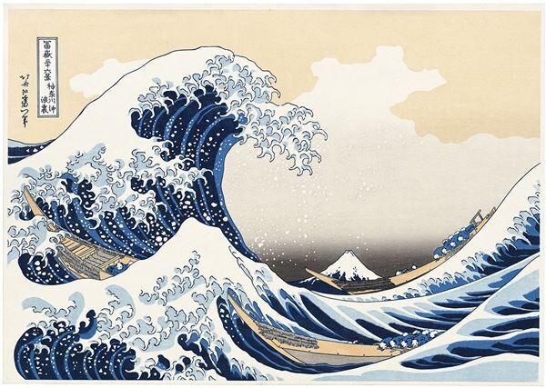 """映画『HOKUSAI』は人間・北斎と彼が描いた""""三つの波""""が生まれる経緯を描くという"""