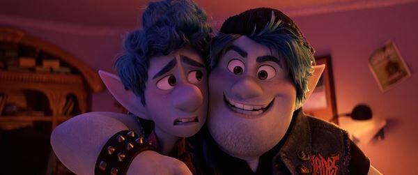 『2分の1の魔法』 (C)2020 Disney/Pixar. All Rights Reserved.