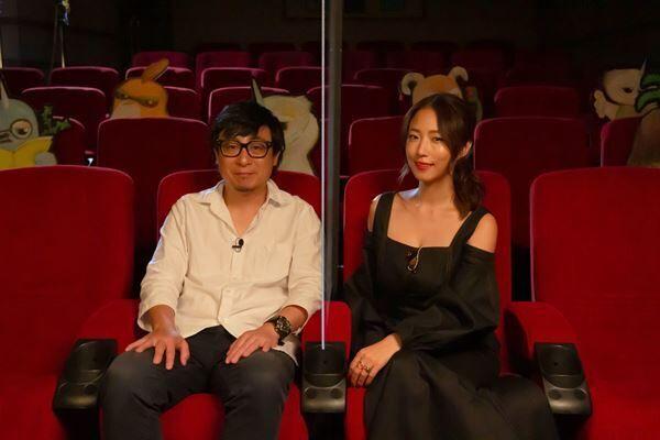 (左から)市井昌秀監督、MEGUMI