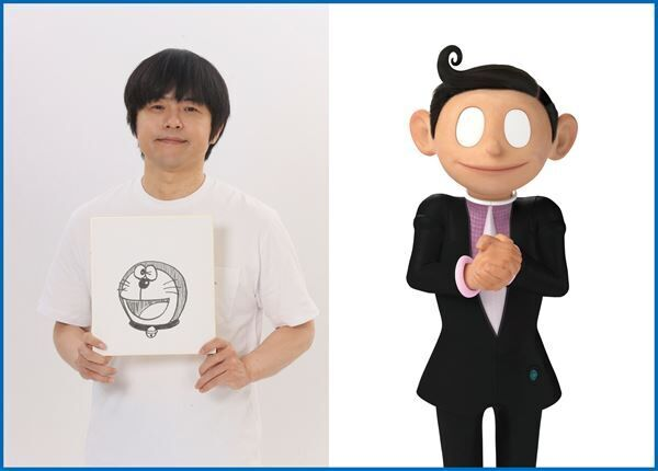 『STAND BY ME ドラえもん 2』ナカメグロ役:バカリズム (C)Fujiko Pro/2020 STAND BY ME Doraemon 2 Film Partners