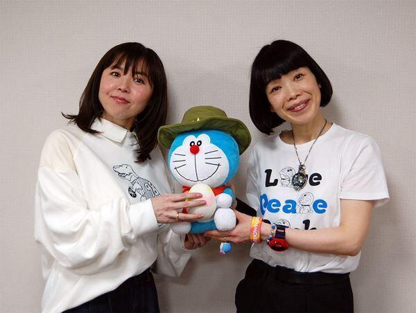 (写真左から)大原めぐみ、水田わさび