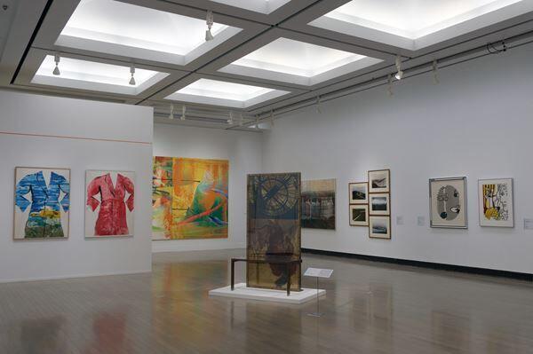 第3章「1960sーー アートの多元化」 展示風景