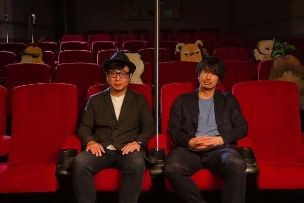 (左から)市井昌秀監督、眞島秀和