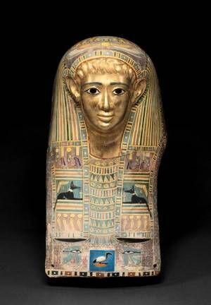《パレメチュシグのミイラ・マスク》 後50~後100年頃 (C) Staatliche Museen zu Berlin, Ägyptisches Museum und Papyrussammlung Berlin / M. Büsing