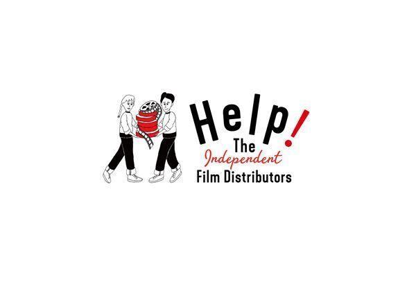 """Help! The 映画配給会社プロジェクト""イラスト&ロゴ"