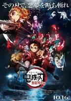 『鬼滅テレビ』8月2日、ABEMAにて放送決定 『劇場版「鬼滅の刃」無限列車編』本ビジュアル&主題歌を発表