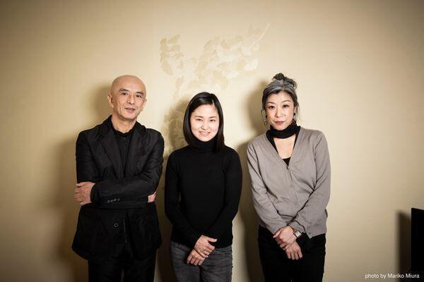 左から勅使川原三郎、庄司紗矢香、佐東利穂子
