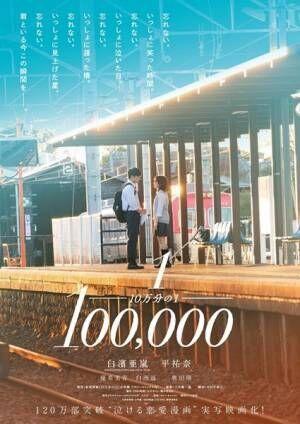 映画『10万分の1』 (c)宮坂香帆・小学館/2020映画「10万分の1」製作委員会