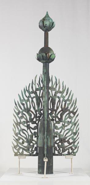 水煙奈良時代(8世紀)薬師寺蔵 (c)飛鳥園