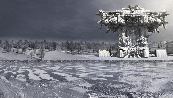 マーク・フォスター・ゲージ《ヘルシンキ・グッゲンハイム美術館》CG 映像 2014 年 映像提供:マーク・フォスター・ゲージ・アーキテクツ