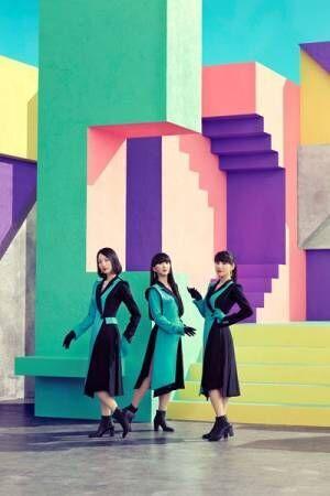 Perfume、約2年半ぶりのニューシングル『Time Warp』9月16日発売決定 新アー写も