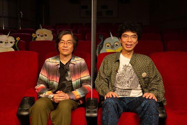 (左から)山岡信貴監督、片桐仁