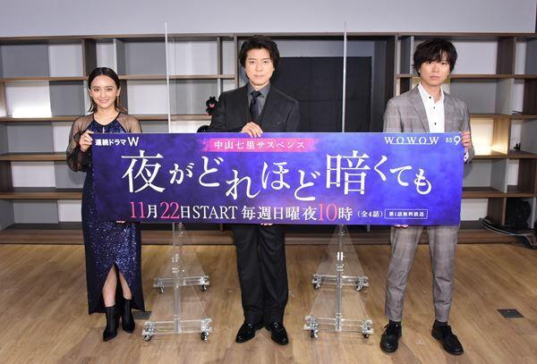 上川隆也、初共演した加藤シゲアキは「安心感のある共演者」