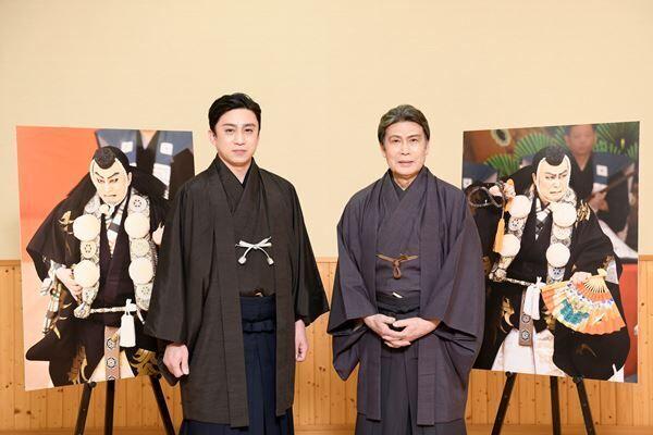 (左より)松本幸四郎、松本白鸚 提供:松竹