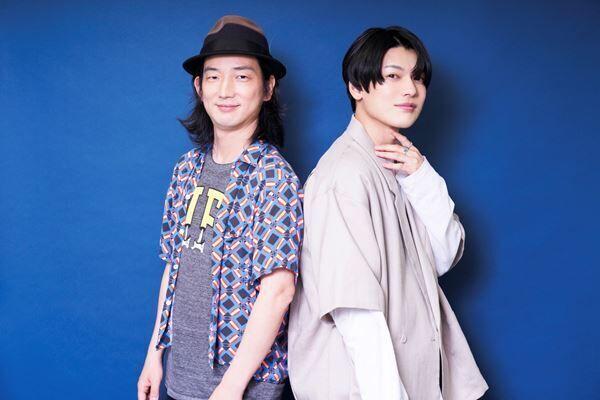 高橋悠也(左)と崎山つばさ(右)