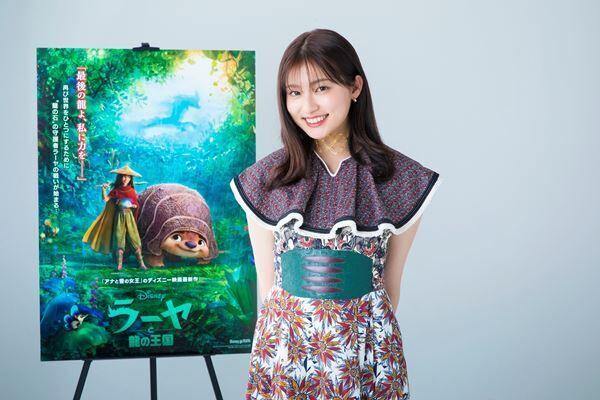 『ラーヤと龍の王国』吉川愛 (c)2021 Disney. All Rights Reserved. ©2021 Disney and its related entities