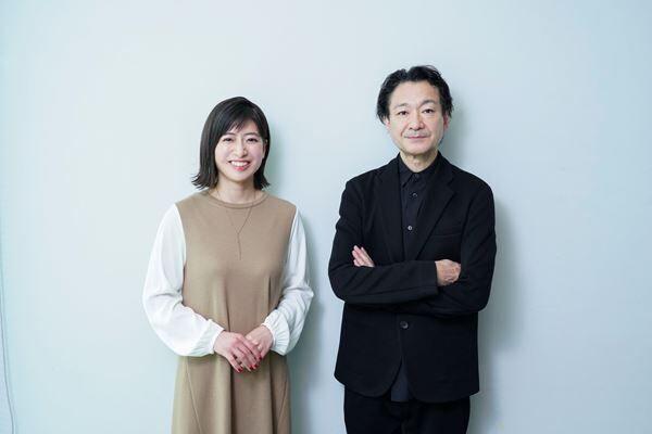 南沢奈央と白井晃 撮影:源賀津己