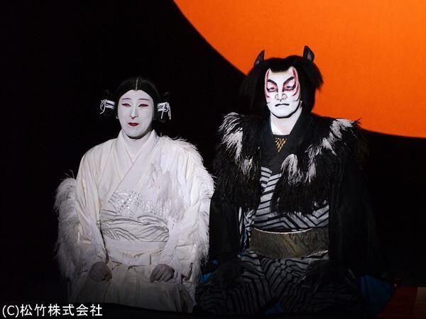 新作歌舞伎『あらしのよるに』 (C)松竹株式会社