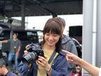 深川麻衣のカメラへの愛情が伝わる姿が 『おもいで写眞』メイキングショット公開