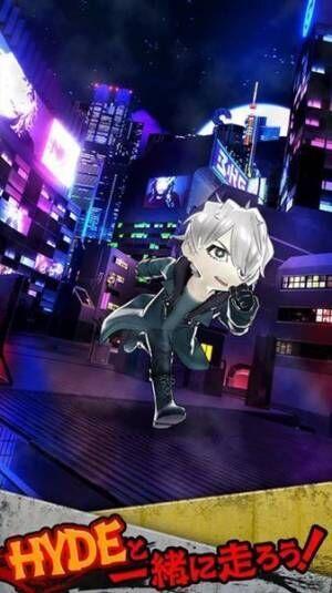 HYDE、ソロ20周年記念ゲーム『HYDE RUN』配信日決定 NEO TOKYOを駆け回るトレーラー公開