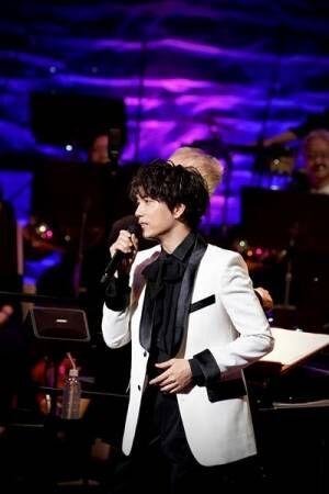 山崎育三郎、フルオーケストラツアー『SFIDA』初日公演で新曲「誰が為」リリース発表